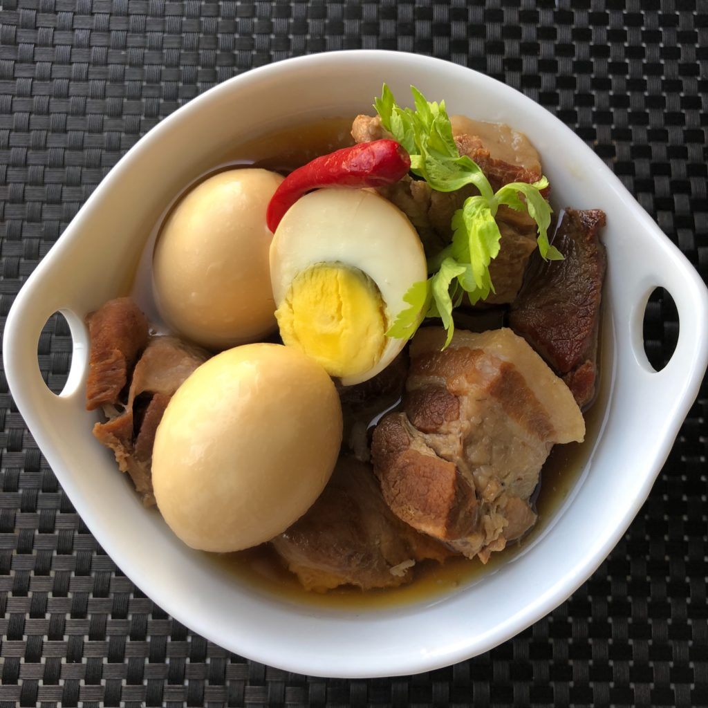 Vietnamese Comfort Food >> Vietnamese Braised Pork With Egg Thit Kho Trung Spoonful Of Yum